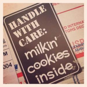Milkin' Cookies package