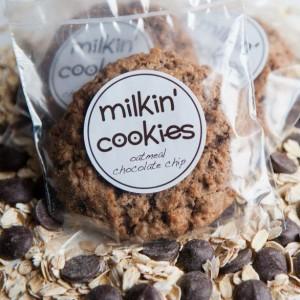 Milkin' Cookies single lactation cookie