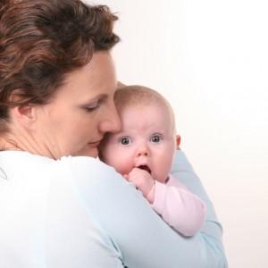 Mum with baby