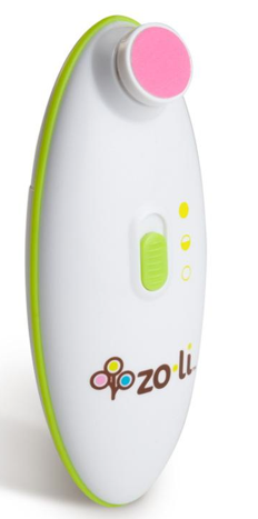 ZoLi Buzz B safely trims your little one's nails
