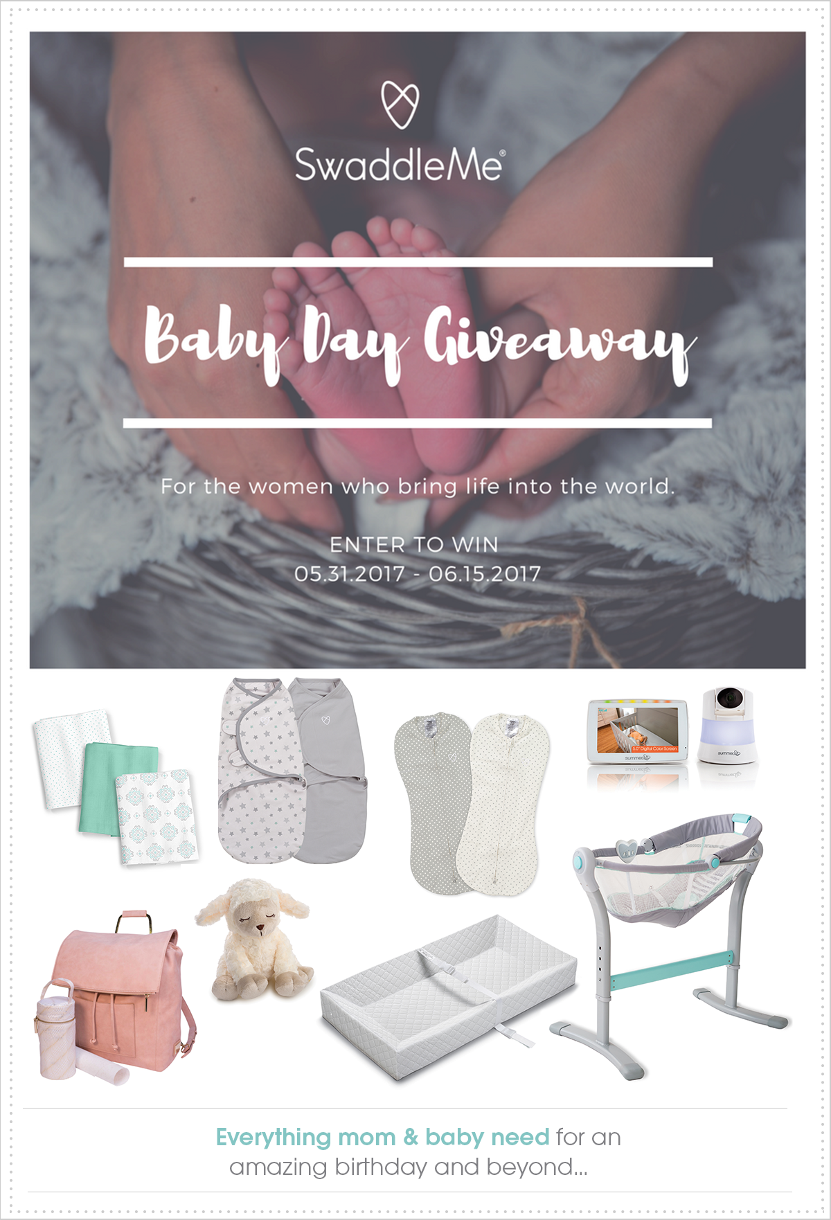 2017 SwaddleMe Baby Day Giveaway