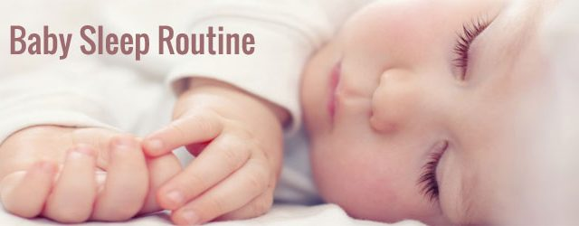 BABY'S SLEEP ROUTINE