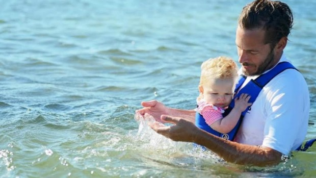 It is important to have the Frog Orange baby carrier to carry your baby in the water