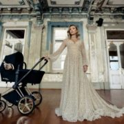 The pram with golden wings for your little angel