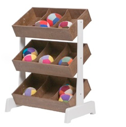 Toy Store- ectangular box-like shelves