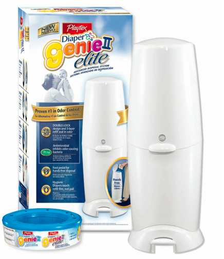 The Playtex Diaper Genie II Elite