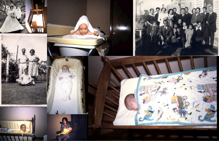 The Family Heirlooms -cradle