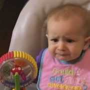 Baby tries broccoli for the first time and regrets it immediately