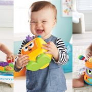 Let your kids play the latest Fisher-Price toys