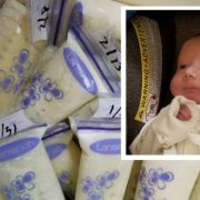 Grieving mum donates more than 100 litres of breast milk to sick babies