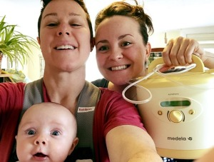 Mum writes emotional love letter to her breastpump